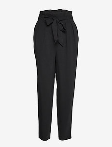 Ember Davina Pant - straight leg trousers - black