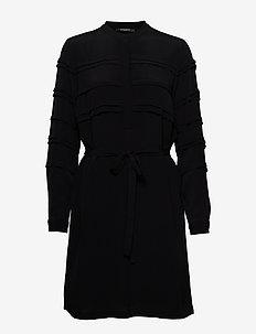 Lilli Vichy Dress - BLACK