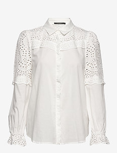 Sienna Robine shirt - long-sleeved shirts - snow white