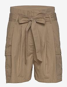 Freyie Olga shorts - ROASTED GREY KHAKI