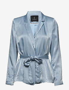 Sofia Liera blazer - sets & co-ords - blue mist