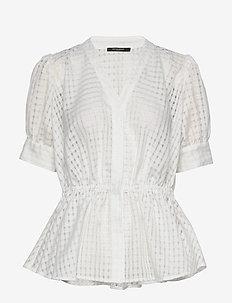 Santonia Desi blouse - SNOW WHITE
