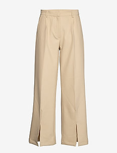 Cindy Natima Pant - wide leg trousers - light sand