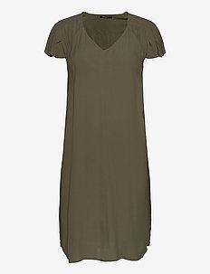 Lilli Fenija dress - midi dresses - olive tree