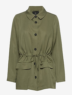 Telmah Berti jacket - utility jackets - olive tree