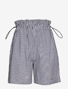 Maxima Denni shorts - paper bag shorts - riverside/white stripes