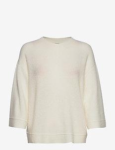 Halla Idah pullover - jumpers - snow white