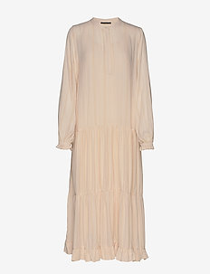 Nori Rosella dress BZ - robes longues - soft rose