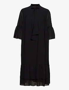 Avior Robin dress - midi kjoler - black