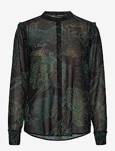 Delicate Ester shirt - langermede bluser - delicate artwork