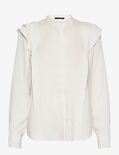 Pralenza Haylin shirt - overhemden met lange mouwen - snow white