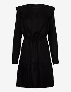 Pralenza Audrey dress - midi kjoler - black