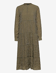 Leyre Maggie dress - midi kjoler - crocodille