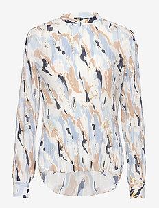 Poetica Cara blouse - long sleeved blouses - poetic artwork