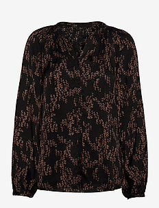 Sequin Amira shirt - blouses med lange mouwen - sequin artwork