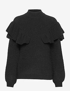 Parisa Lyre knit - pullover - black