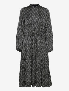 Acacia Avery dress - sukienki letnie - dark floral print