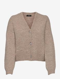 Syringa Christella knit - cardigans - roasted grey melange