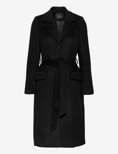 Catarina Novelle coat - trenchcoats - black