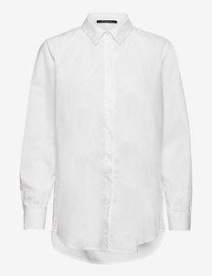 Rosie Liber shirt - jeansowe koszule - white