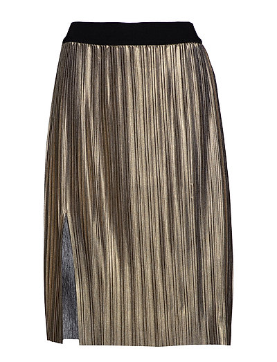 Nilla Chilla Midi skirt - GOLD