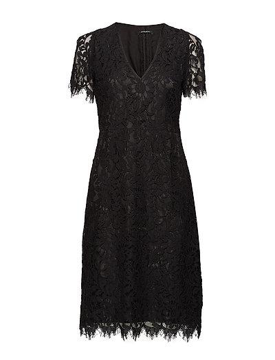 Lacy Vela dress - BLACK