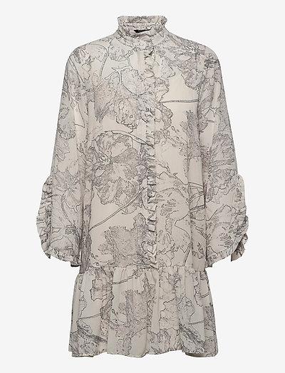 Ivy Rosemary dress - summer dresses - snow white aop