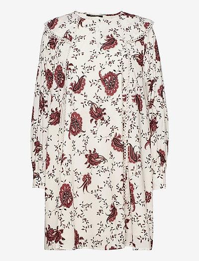 Aster Oceane dress - sommerkjoler - paisley flower print