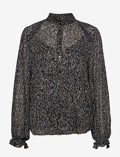Vervain Sabell shirt - langærmede bluser - modern artwork dark