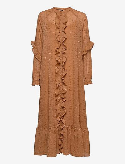 Marigold Idoh dress - sommerkjoler - gold sand