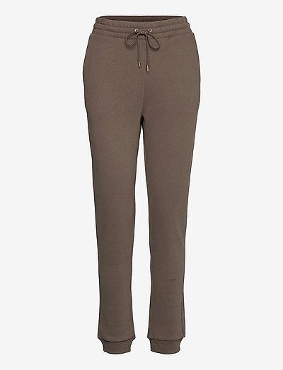 Comfy Cathryn sweatpants - tøj - major brown