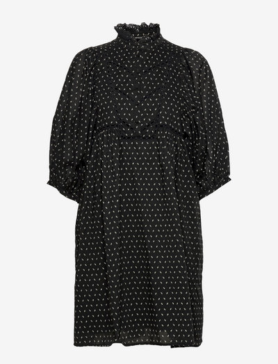 Aster Saria dress - summer dresses - black  print