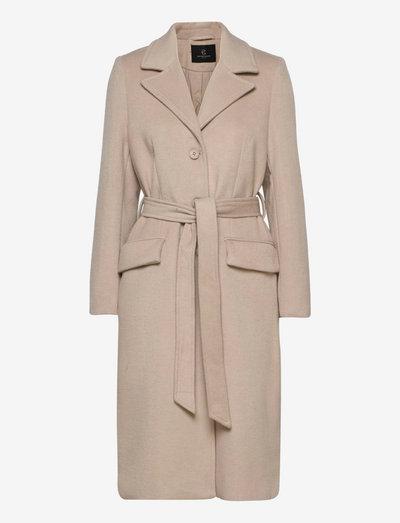 Catarina Novelle coat - trench coats - beige