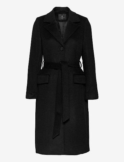 Catarina Novelle coat - trench coats - black