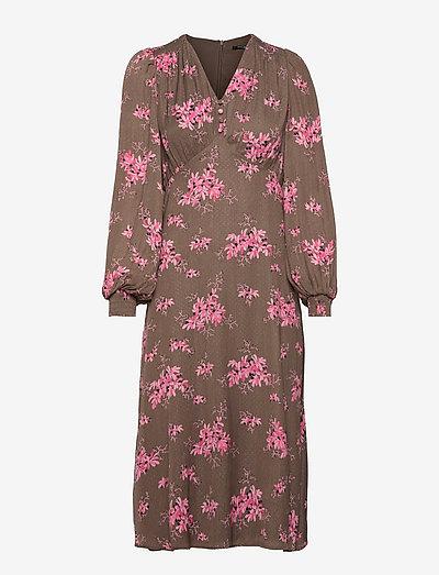 Prickly P Lerka dress - zomerjurken - dark floral print