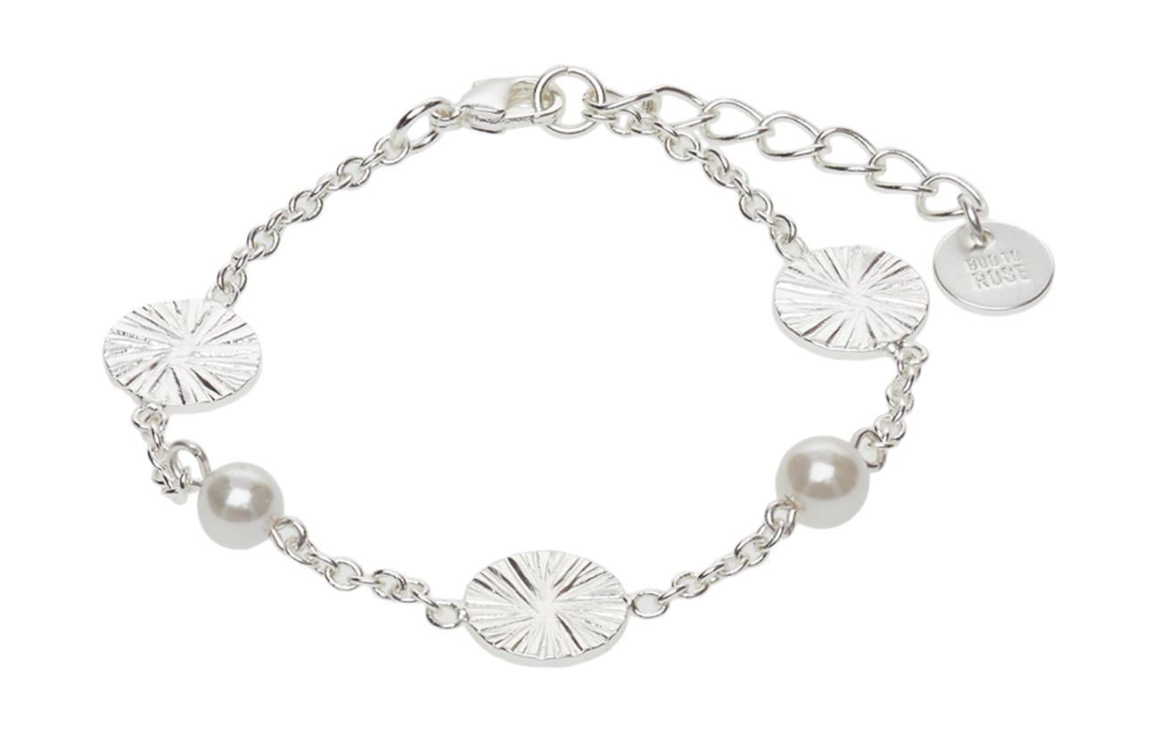 Bud to rosa Belize Pearl Mix Bracelet silver Smycken
