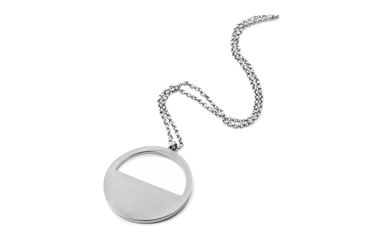 Bud to rose Haley Short Necklace - SILVER