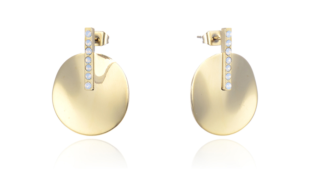 Bud to rose Kelly Earring - GOLD