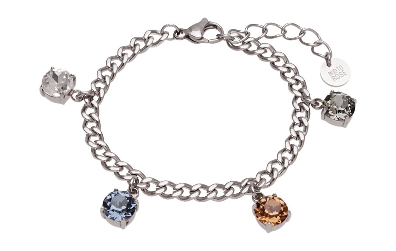 Bud to rose Shine Charm Bracelet - SILVER
