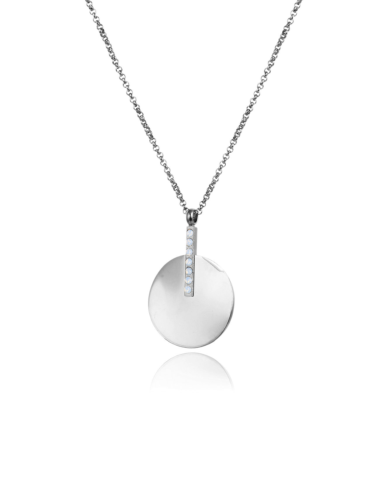 Bud to rose Kelly Short Necklace - SILVER