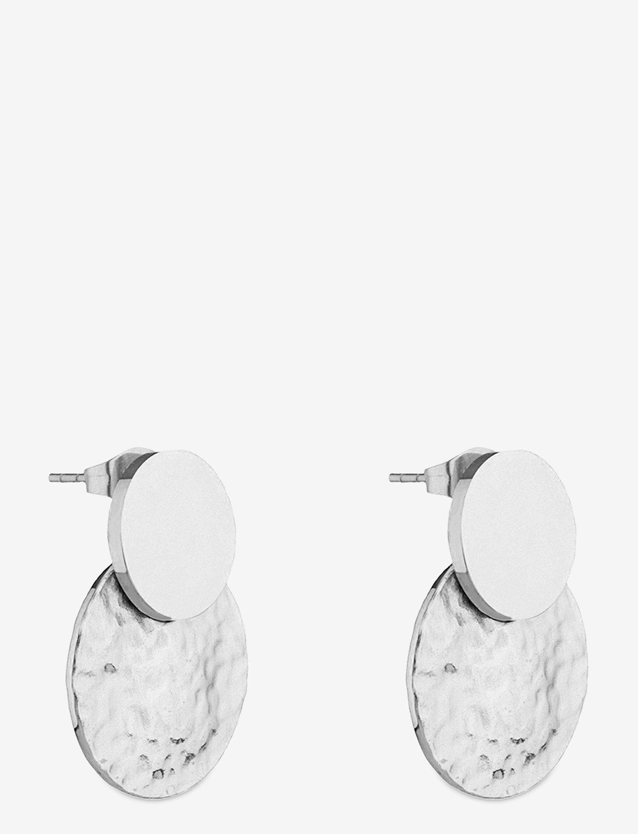Bud to rose - Capri Earring - studs - silver - 1