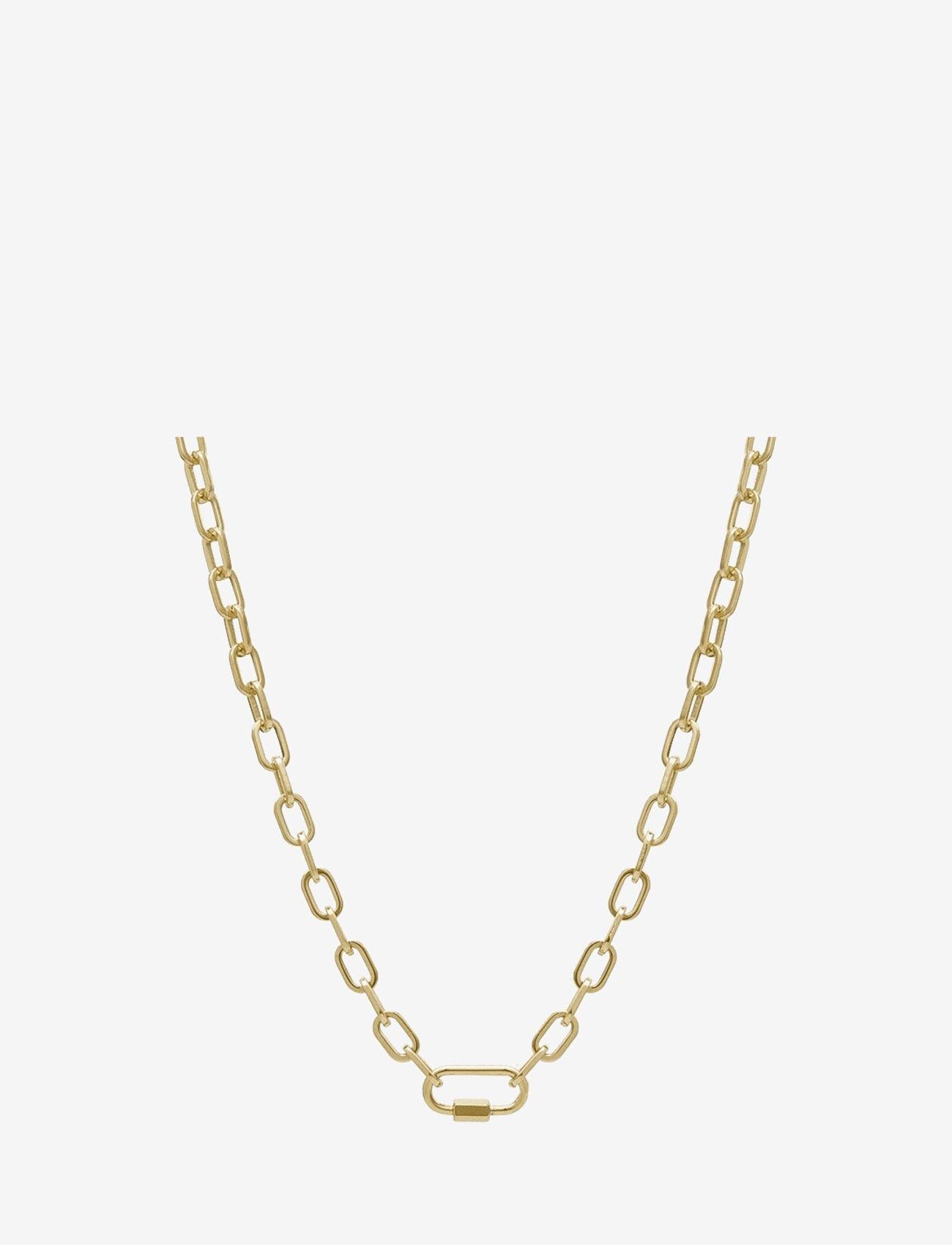 Bud to rose - Nova Short Necklace Gold - kettingen  - gold - 0