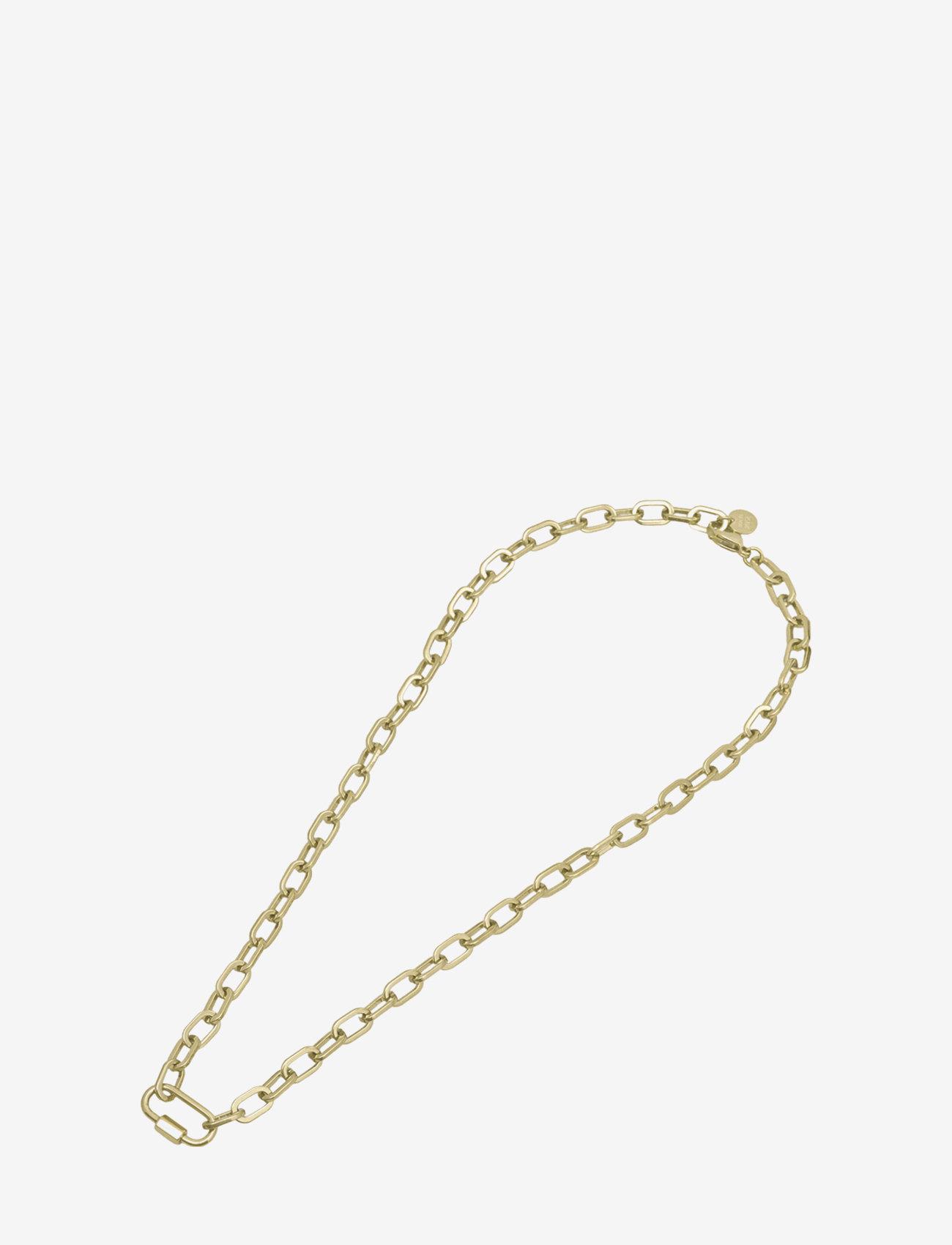 Bud to rose - Nova Short Necklace Gold - kettingen  - gold - 1
