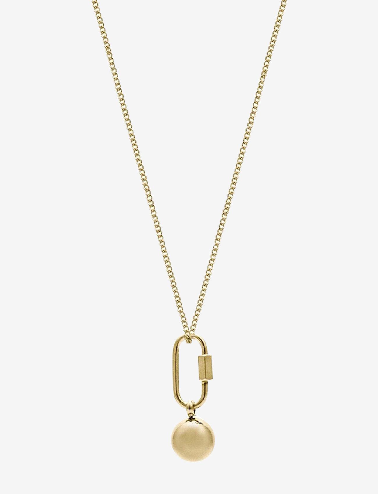 Bud to rose - Nova Long Necklace Gold - kettingen met hanger - gold - 0
