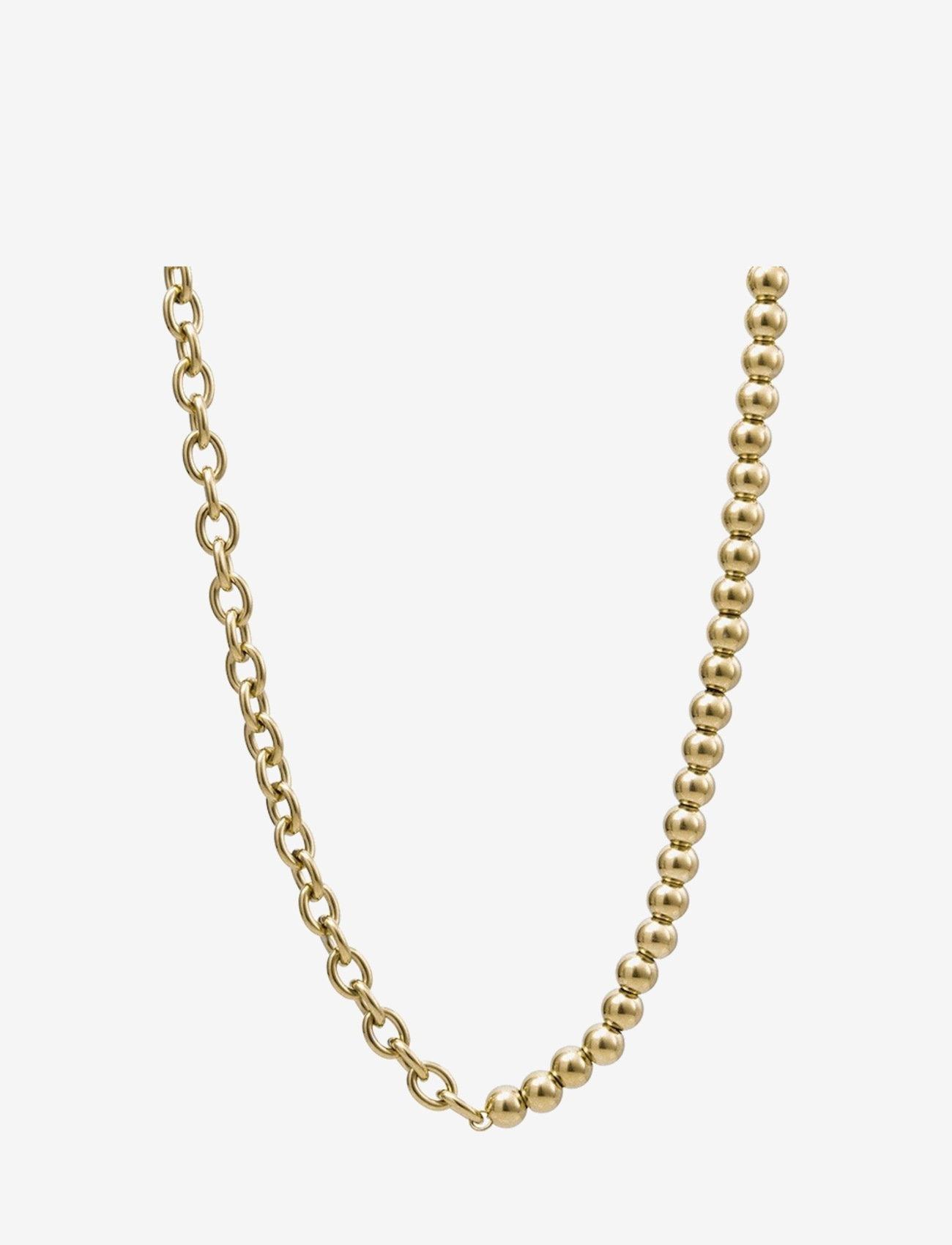 Bud to rose - Senso Short Necklace Gold - kettingen  - gold - 0