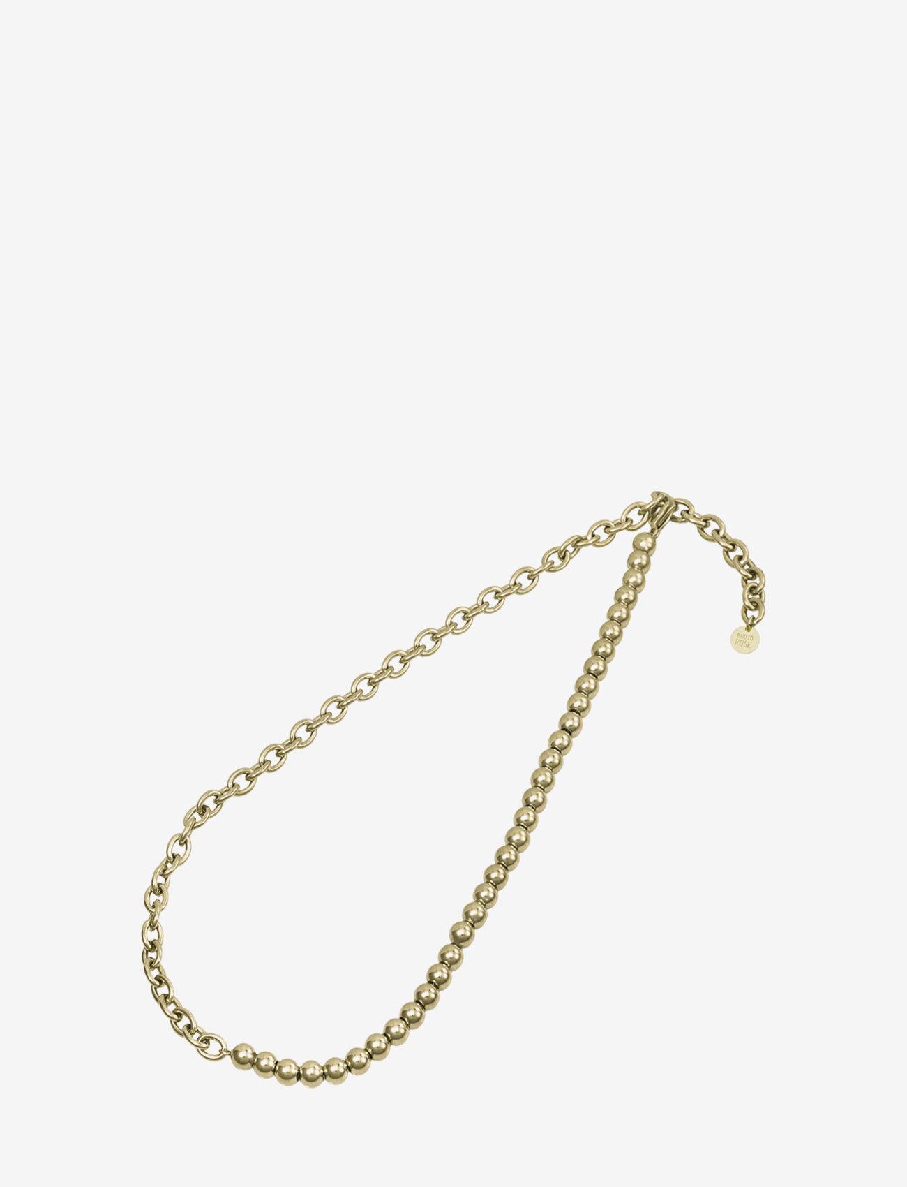 Bud to rose - Senso Short Necklace Gold - kettingen  - gold - 1