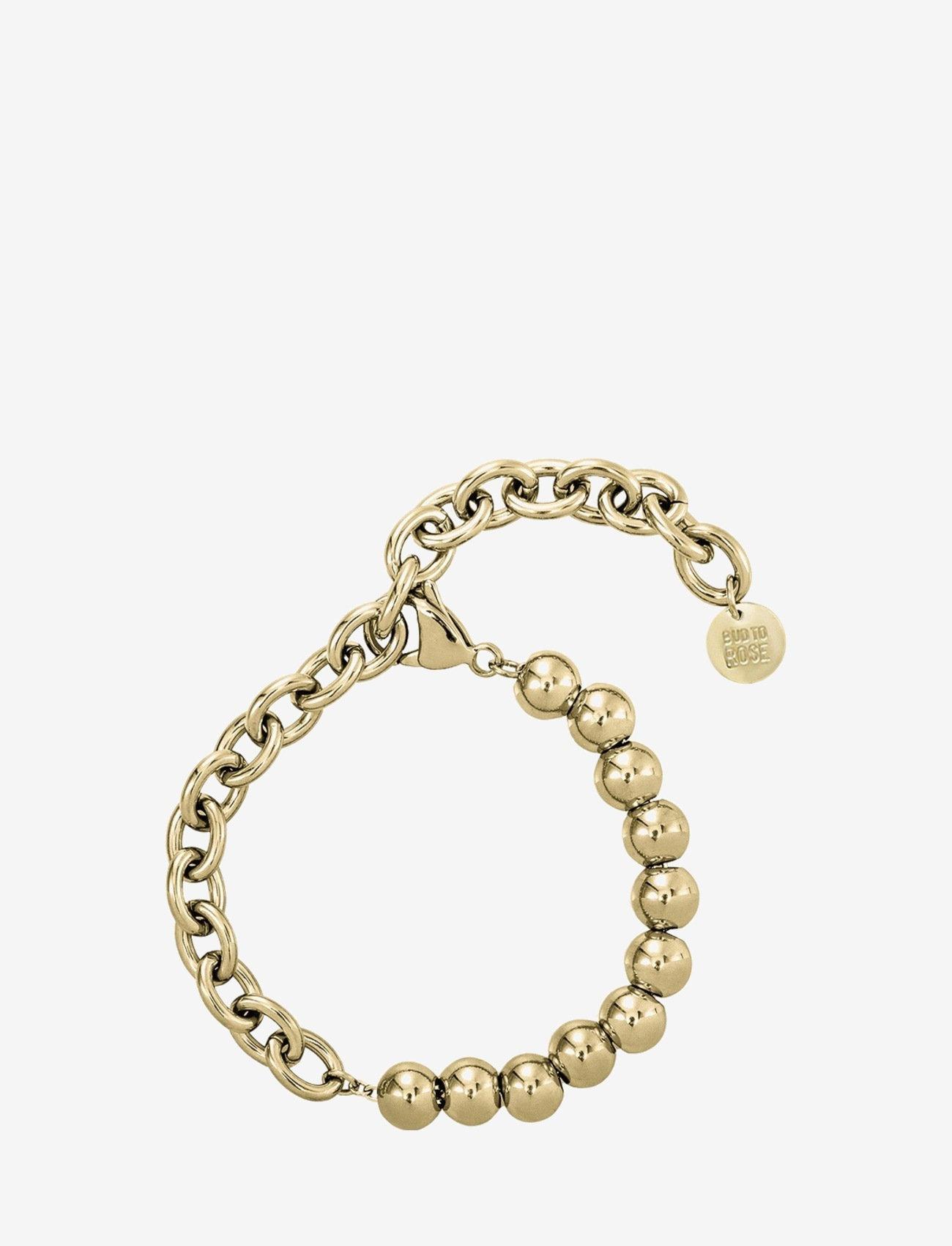 Bud to rose - Senso Bracelet Gold - dainty - gold - 0