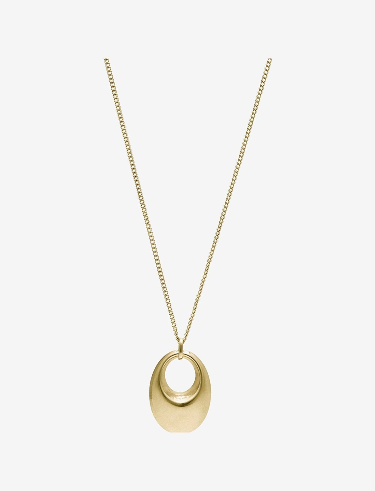 Bud to rose - Arc Bold Necklace Gold - kettingen met hanger - gold - 0