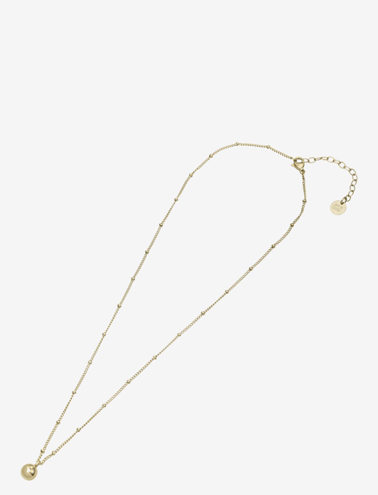 Bud to rose - Globe Short Necklace Steel - kettingen met hanger - gold - 1