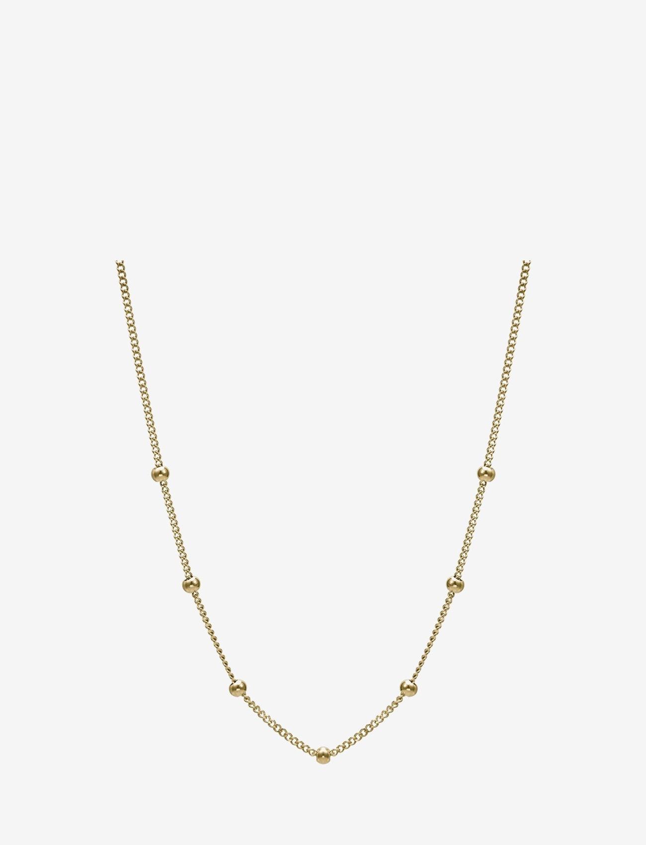 Bud to rose - Globe Choker Necklace Steel - kettingen met hanger - gold - 0